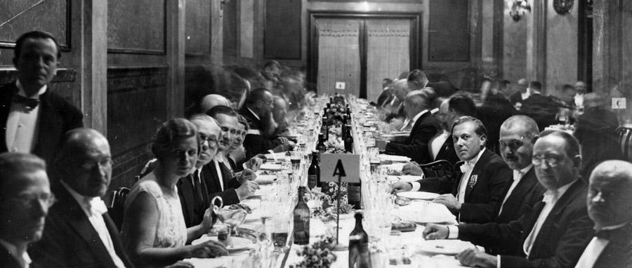 ERH-1931-MRH-Breslau-Budapest-Offical-Visit-Dinner